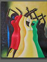 People Get Together Celebgrate The New Year Oil Painting in Good Quality