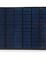 Légère silicium polycristallin cellule solaire 18v 3.5w pour le chargeur bricolage