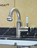 PHASAT®Bathroom Sink Faucets Contemporary Rotatable Stainless Steel Stainless Steel