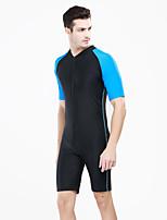 One Piece - Nuoto / Immersioni - Per uomo - Resistenteai raggi UV / Asciugatura rapida / Compressione -Giallo / Blu chiaro / Arancione /