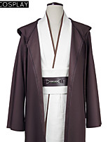 Star Wars Obi-Wan Kenobi Jedi Cosplay Costume Tunic Robe Full Set