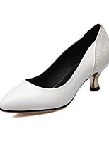 Women's / Girl's Wedding Shoes Heels Heels Wedding / Office & Career / Party & Evening / Dress Black / Blue / White