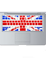 britânico design da bandeira tampa do teclado de silicone pele para MacBook Air 13,3, MacBook Pro com retina 13 15 17 nós de layout