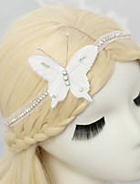 Women's / Flower Girl's Rhinestone / Chiffon Headpiece-Wedding / Special Occasion Headbands 1 Piece