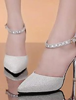 Women's Shoes Glitter Pumps Party Sexy Stiletto Heel Comfort / Pointed Toe Heels Shoes