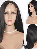 16inch Spitzefronthaarperücken 100% Echthaar mongolischen remy Haar glattes Haar Perücken für Frauen