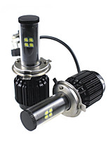 más nuevo coche llevó la luz h13 h4 9004 9007 CREE LED de alta potencia 80w 9000lm h13 h4 9004 9007 llevó la linterna de alquiler