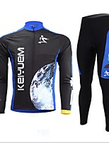 KEIYUEM®Others Unisex Long Sleeve Spring/Autumn Cycling Clothing Suits Breathable / Insulated / Quick Dry /