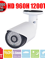 CCTV 3.6mm Sony CMOS HD 960H 1200TVL 36Les IR-Cut waterproof Outdoor Bullet Security camera with wall Mount Bracket