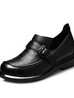 Women's Shoes Leather Flat Heel Ballerina Flats Office & Career / Party & Evening Black / Yellow