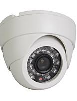 1/3 SONY HD CMOS 1200TVL/960H 24LEDs IR-CUT CCTV  Dome Security Camera White case