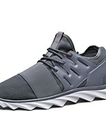 Men's Shoes Outdoor / Casual / Athletic Fabric Athletic Shoes Black / Blue / Gray