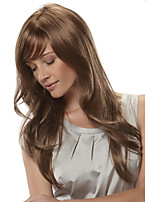 Fashion Lady Blonde Color Long Curly Synthetic Wigs