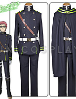 Seraph of the End Owari No Serafu Shiho Kimizuki Uniform Cloak Cosplay Costume Full Set