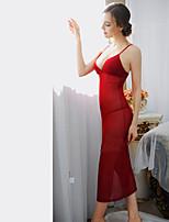 Damen Nachtwäsche  -  Hemden & Kleider / Besonders sexy Elasthan / Kern-gesponnenes Garn