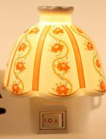 creativa de cuenco forma diseñada cerámica lámpara de noche junto a la cama la luz de la lámpara de fragancia