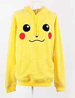 Inspired by Pokemon Pikachu Hoodie Cosplay Costumes