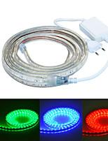 jiawen 300CM Waterproof  18W  180-5050SMD 8-Mode  RGB LED Flexible Light Strip (AC110~220V)