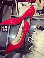 Women's Shoes Patent Leather Stiletto Heels Wedding / Office & Career / Party & Evening / Dress / Casual Green / Red