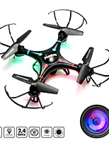 4CH 2.4G Black & White Drone with HD Camera RC Quadcopter