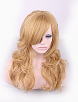 Daily Wear Natural Hair Style Curly Lolita Wigs Women Cheap Synthetic Wigs Blond Wig Heat Resistant