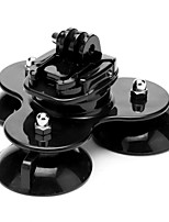 Low Triple 3 Cup Suction Mount for GoPro Hero 4 / 3+ / 3 / 2 / 1