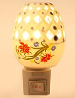 diseño creativo de cerámica lámpara de noche junto a la cama la luz regalo del festival fragancia lámpara