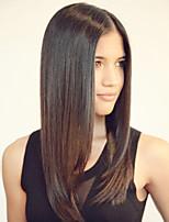 14inch Spitzefronthaarperücken mongolischen remy Haar silk gerade Haarperücken Berühmtheit Stil Perücken für Frauen