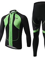 Men's Long Sleeve Spring / Summer / Autumn Cycling Clothing Sets/Suits PantsBreathable / Moisture
