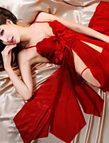 Women Chemises & Gowns Nightwear , Spandex