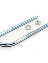 TIROL T19935/75mm14 Motorhome Trailer Long Round Galvanized carbon steel U-bolt kits 75MM Dia 14mm With Nuts Ubolts