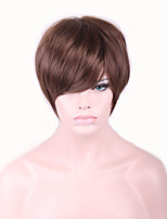 Best-selling Europe And The United States With Short Brown Wig 4 Inch