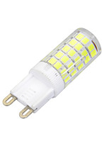 Marsing G9 8W 600lm 64-SMD 2835 Warm White / Cool White 3000K/6000K Light LED Bi-pin Bulb(AC220-240V)