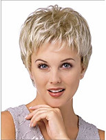 Superior in Quality Hot Selling Short  Blonde Syntheic Wig