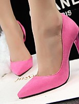 Women's Shoes Fashion Simple Style Suede Pumps Stiletto Heel Comfort / Pointed Toe Heels Office & Career / Dress