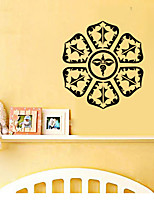 9502 Yoga Mandala Om Indian Buddha Symbol Mehndi Vinyl Wall Decal Home Decor Wall Sticker Home Decor Living Room