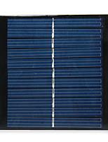 Saída 5.5V 1W silício policristalino painel solar para diy