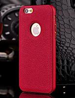 hzbyc®new роскошный футляр из натуральной кожи для интегрированной металлической раме случае для Apple IPhone / 6с 6plus плюс (ассорти