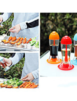 BBQ Oil Bottle Portable Kitchen Prinkling Can Seasoning Sauce Bottles Cans Soy Vinegar Press the Outflow Random Color