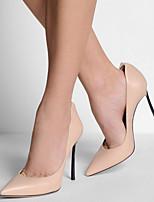 Women's Shoes Leatherette Stiletto Heel Heels / Pointed Toe Heels Party & Evening / Dress / Casual Beige