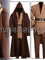 Star Wars Obi Wan Kenobi Jedi Tunic Cosplay Costume for Adult Kids New Version