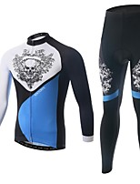 Men's Long Sleeve Spring / Summer / Autumn Cycling Clothing Sets/Suits PantsBreathable / Ultraviolet Resistant /Moisture