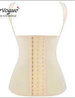 Damen Unterbrustkorsett / Brustkorsett / Übergröße  -  Baumwolle / Nylon / Polyester / Elasthan / Modal Haken & Öse