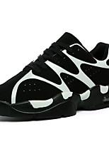 Masculino-Tênis-Conforto-Rasteiro-Preto / Verde / Branco / Preto e Branco-Couro-Ar-Livre / Casual / Para Esporte