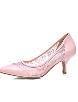 Da donnaFormale / Casual-Tacchi / A punta-A stiletto-Finta pelle-Nero / Blu / Rosa / Bianco
