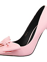 Femme-Mariage Décontracté Soirée & Evénement-Blanc Noir Rose-Talon Aiguille-Confort-Chaussures à Talons-Polyuréthane