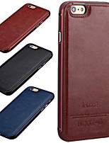 HZBYC®New Luxury Genuine Leather Case for Metal Integrated Frame Case for Apple iPhone 6Plus/6S Plus(Assorted Colors)