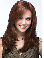 Beautiful Chestnut Brown Straight Fashion Women's Synthetic Wig