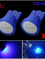 High Power 2 X blue COB T10 194 168 LED 12V Instrument Dash Light Bulbs