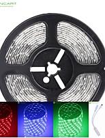 5M 75W 300x5050 SMD LED DC12V IP68 Waterproof Strip Light + 44Key Remote Control RGB